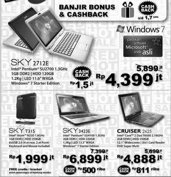 Laptop Prosesor Iklan Pr Yosnex 2009