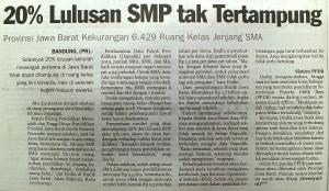 PPDB Lulusan SMP