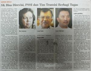 PSSI transisi