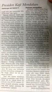 PSSI vs Menpora 2
