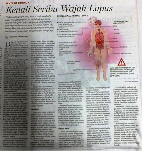 SAMAT Lupus kenali